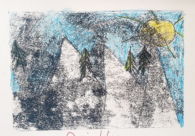 Grafiek/Monoprints